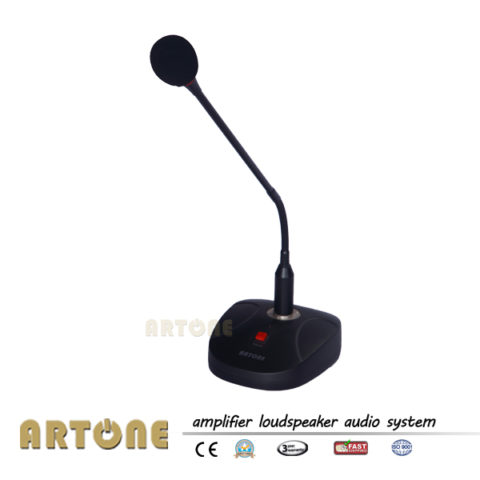 PA Tabletop Gooseneck Chime Microphone