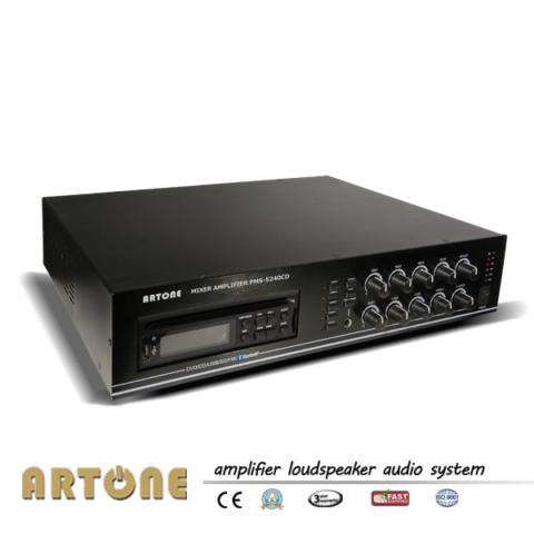 ARTONE Five Zone CD DVD Bluetooth Mixer Amplifier with Echo