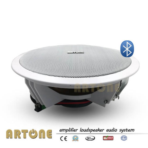 Bluetooth 8 Inch Ceiling Speaker with Amplifier Wireless Audio System ARTONE TH-708