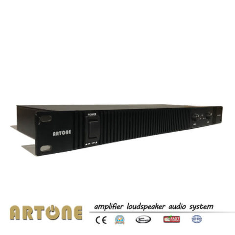 1U Power Amplifier Stereo 1000W Large Power AMP PD-2800