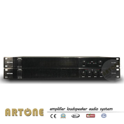 2CH Power Amplifier and 4CH Booster Amplifier ARTONE audio PD-2300 PD-4400