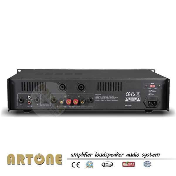 2ch power amplifier 300w for stereo pa sound pra 2300 china public address system artone audio. Black Bedroom Furniture Sets. Home Design Ideas