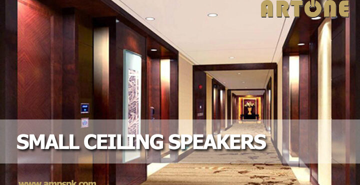 Small Ceiling Speakers for small room corridor in ceiling flush mount