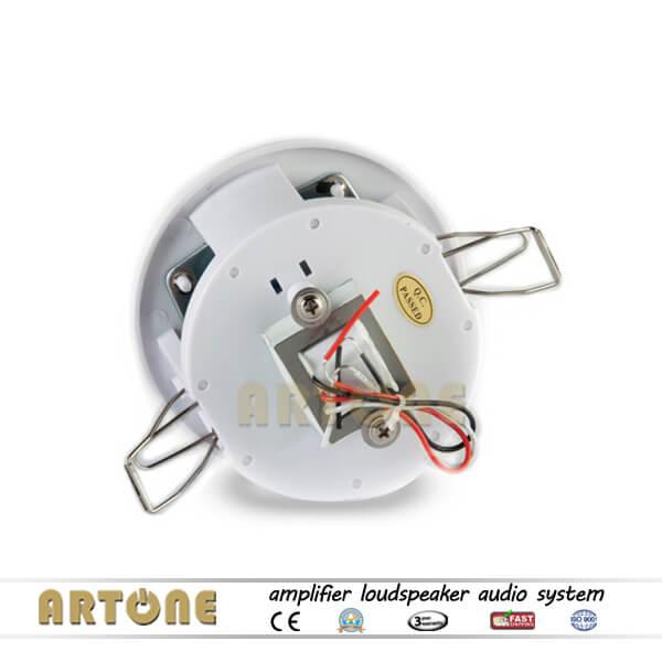 Small Size PA Ceiling Speaker 6W ARTONE 100V Loudspeaker CS-30
